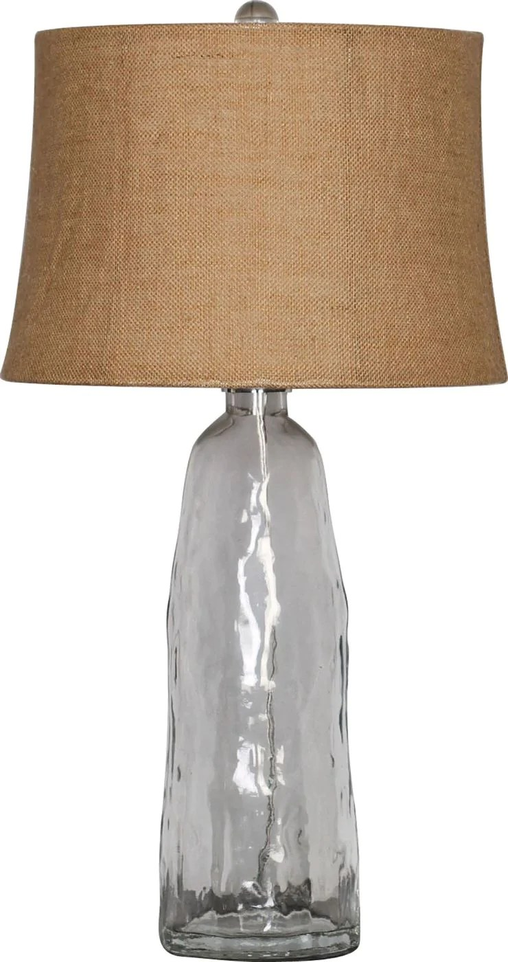 Coastal Lamps Surya Blowout Sale Up To 70 Off Lmp 1011 Lamp Coastal Table Lamp Clear Glass Natural Only Only 321 00 At Contemporary Furniture Warehouse