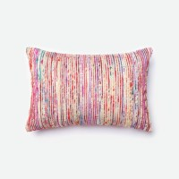Loloi Rugs Loloi Red / Multi Decorative Throw Pillow ...