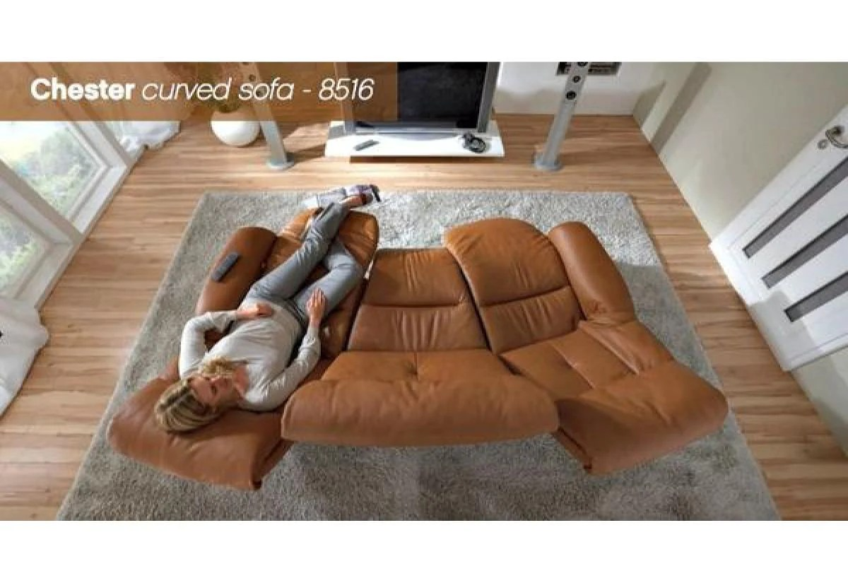 Curved Sofa Chester Curved Sofa Himolla