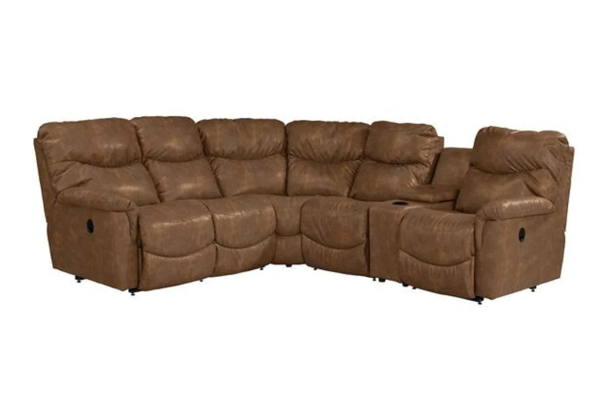 Leather Sectional Sofa Recliner James Reclining Sectional Sofa La Z Boy