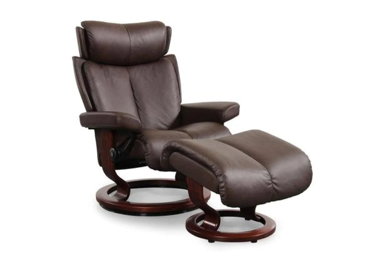 Stressless Paloma Magic Small Classic Recliner Ottoman Stressless By Ekornes
