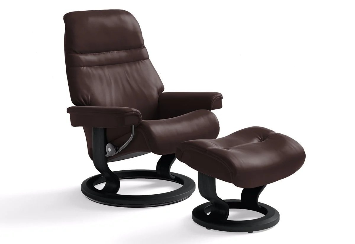 Ekornes.de Sunrise Small Classic Recliner And Ottoman Stressless By