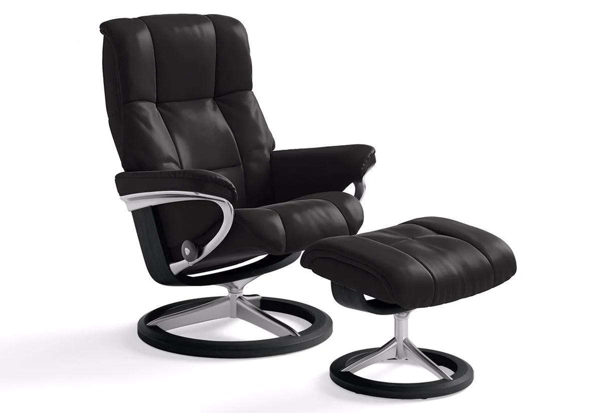 Ekornes Stressless Mayfair Large Signature Recliner Ottoman Stressless By Ekornes