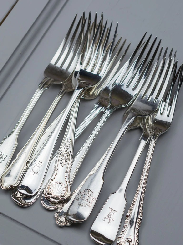 Used Flatware For Sale Vintage Hotel Flatware Fork