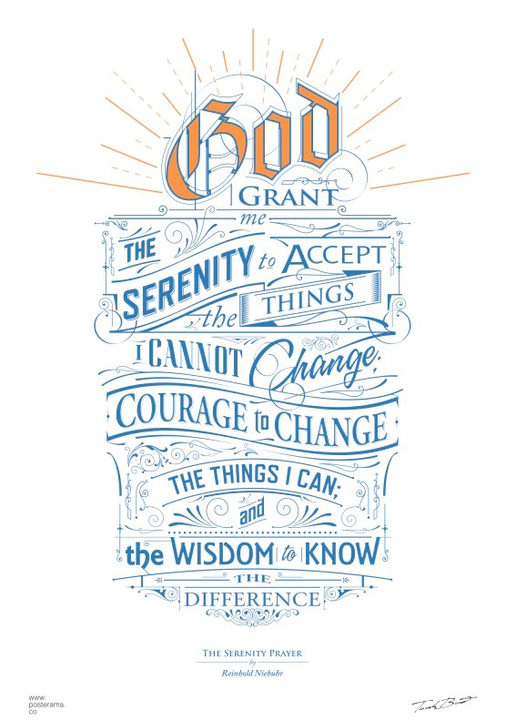 Literary Wallpaper Quote Inspirational Quotes Serenity Prayer Poster 1762014 Www
