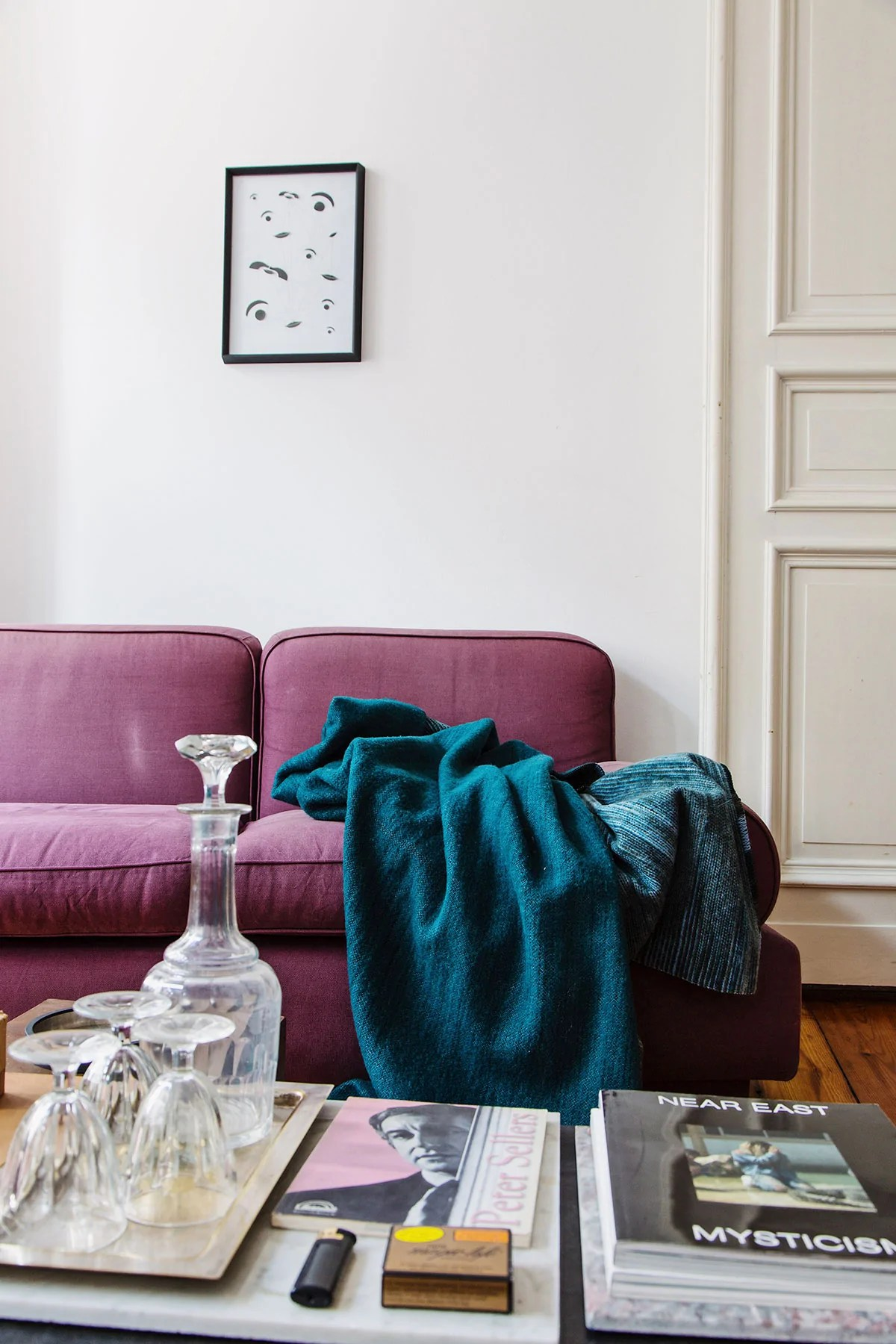 At Home With Cabinet Maker Ilias Lefas Interior Design Inspiration Perelic Woolen Goods