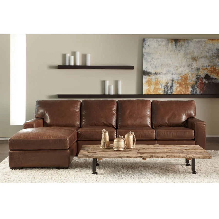 Leather Sectional Vancouver American Leather Cf Interiors