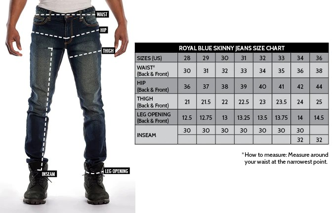 Levis jeans for women size chart