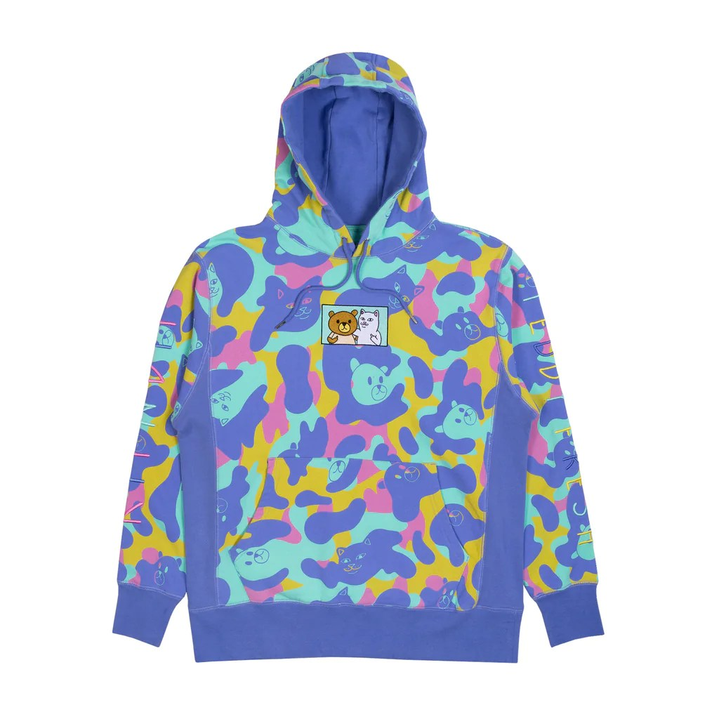 Camo Hoodie India Official Ripndip Apparel Accessories Skate Lord