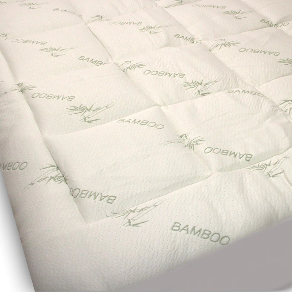 Extra Firm Mattress Topper Extra Plush Fitted Bamboo Mattress Pad Snug Fit Topper