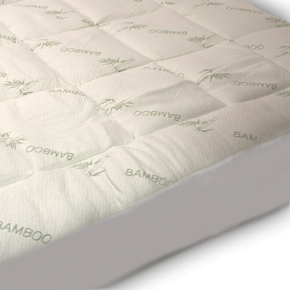 Wool Mattress Pad Reviews Extra Plush Fitted Bamboo Mattress Pad Snug Fit Topper