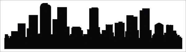 Black Silver And Pink Wallpaper Denver Skyline Decal Get Stuck Vinyl