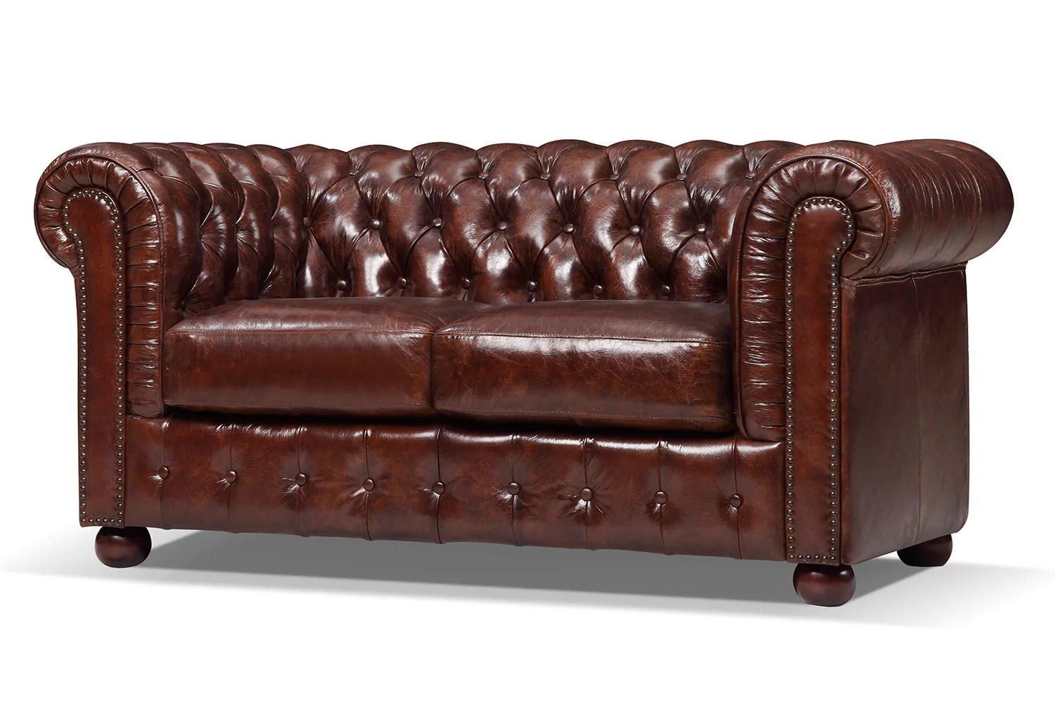 Canapé Chesterfield 2 Places Canapé Chesterfield Original 2 Places Rose Moore