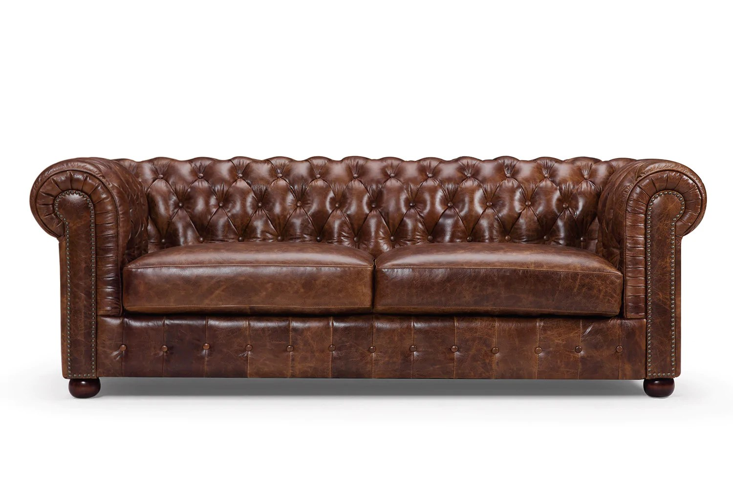 Photo Canapé Canapé Chesterfield Original Rose Moore