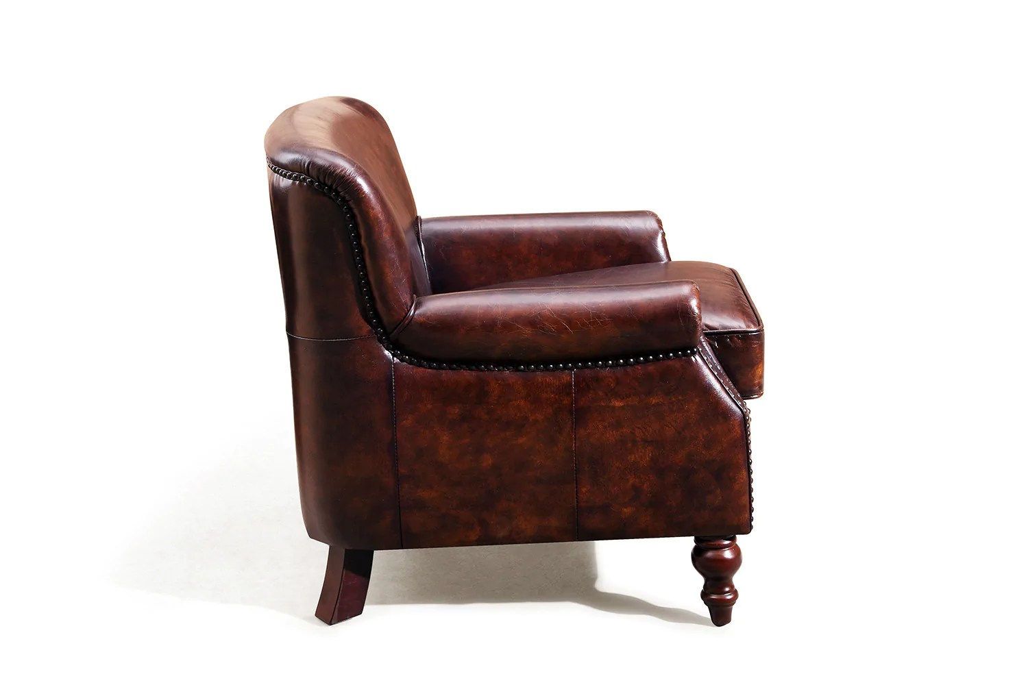 Fauteuils Rose Moore Fauteuil Anglais Cambridge En Cuir Rose And Moore