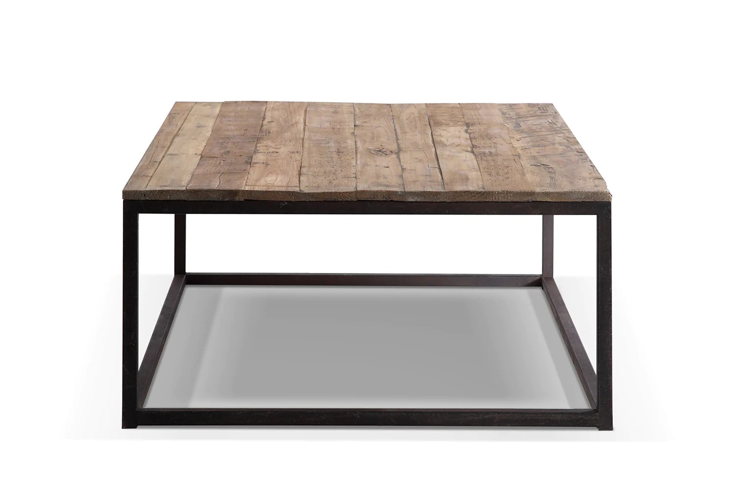 Table Basse Bois Industrielle Table Basse Industrielle En Métal Et Bois Tb02 Rose Moore