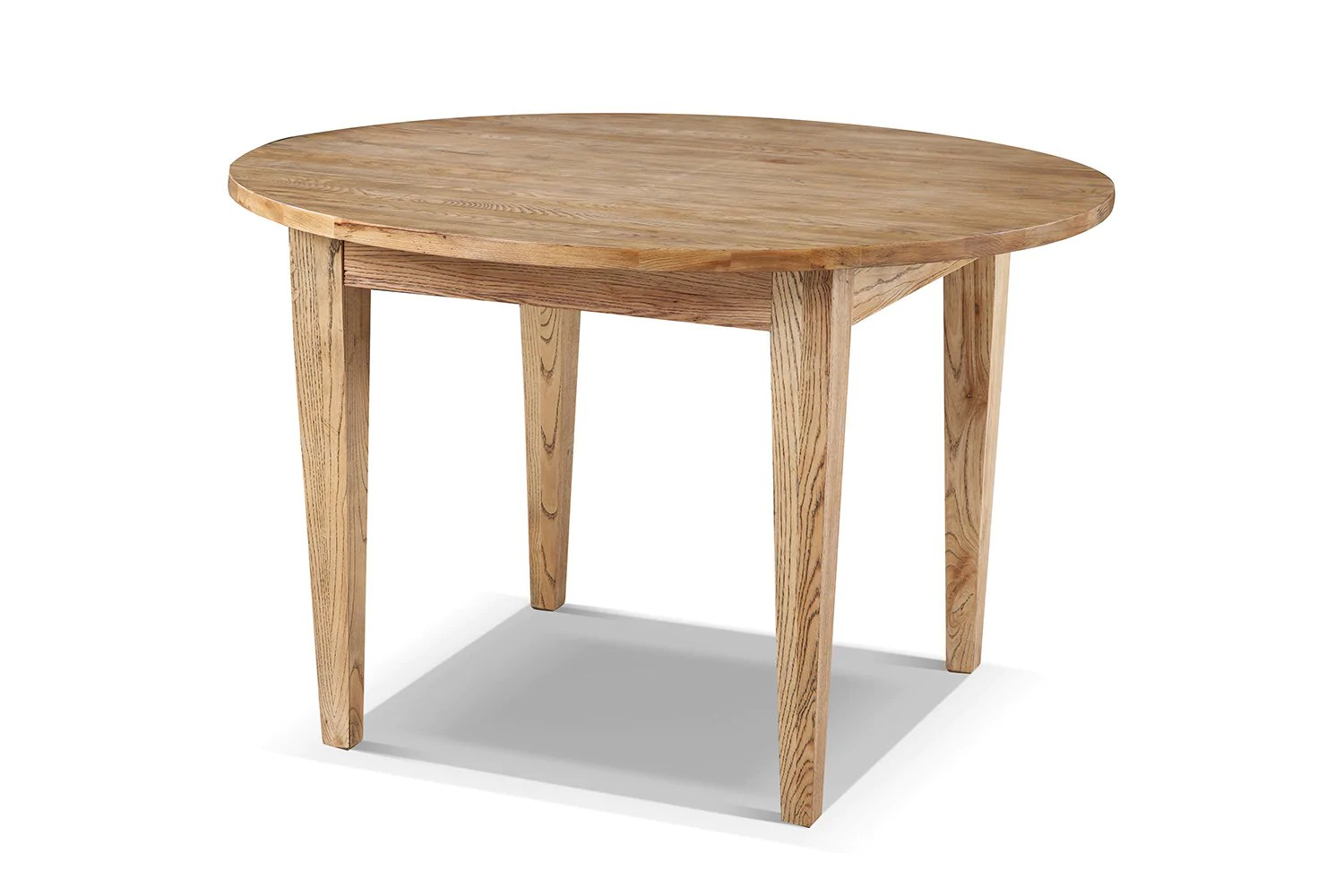 Tables De Cuisine Rondes Table De Cuisine Cottage Ronde En Bois Rose Moore