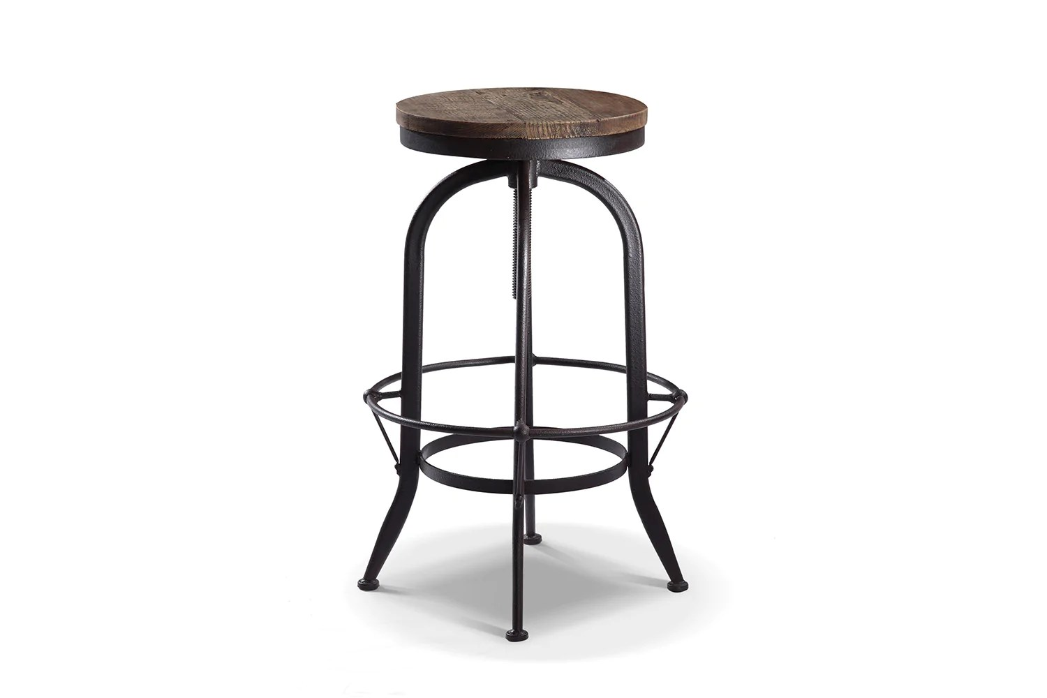 Tabourets Industriel Tabouret De Bar Rond Vintage Ta03 Rose And Moore
