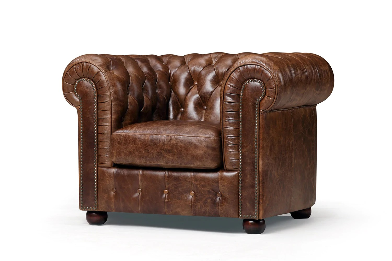 Chesterfield Ohrensessel Leder Original Chesterfield Sessel Rose Moore