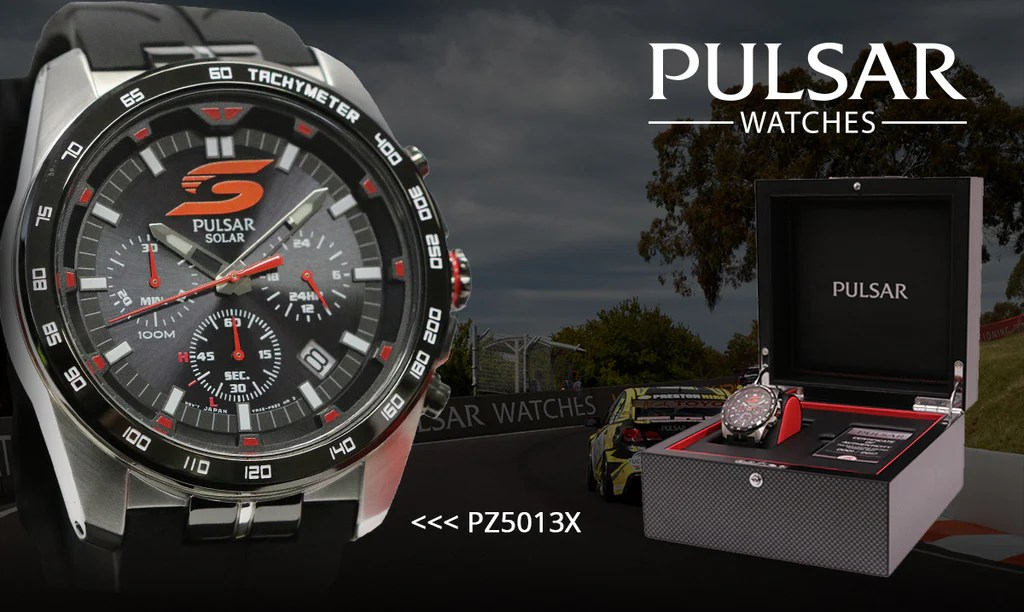 Pulsar Supercars Watch 2017 Limited Edition Pz5013x H