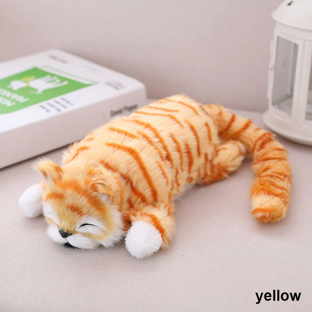 Cat Plush Toy Funny Simulation Cat Plush Toy