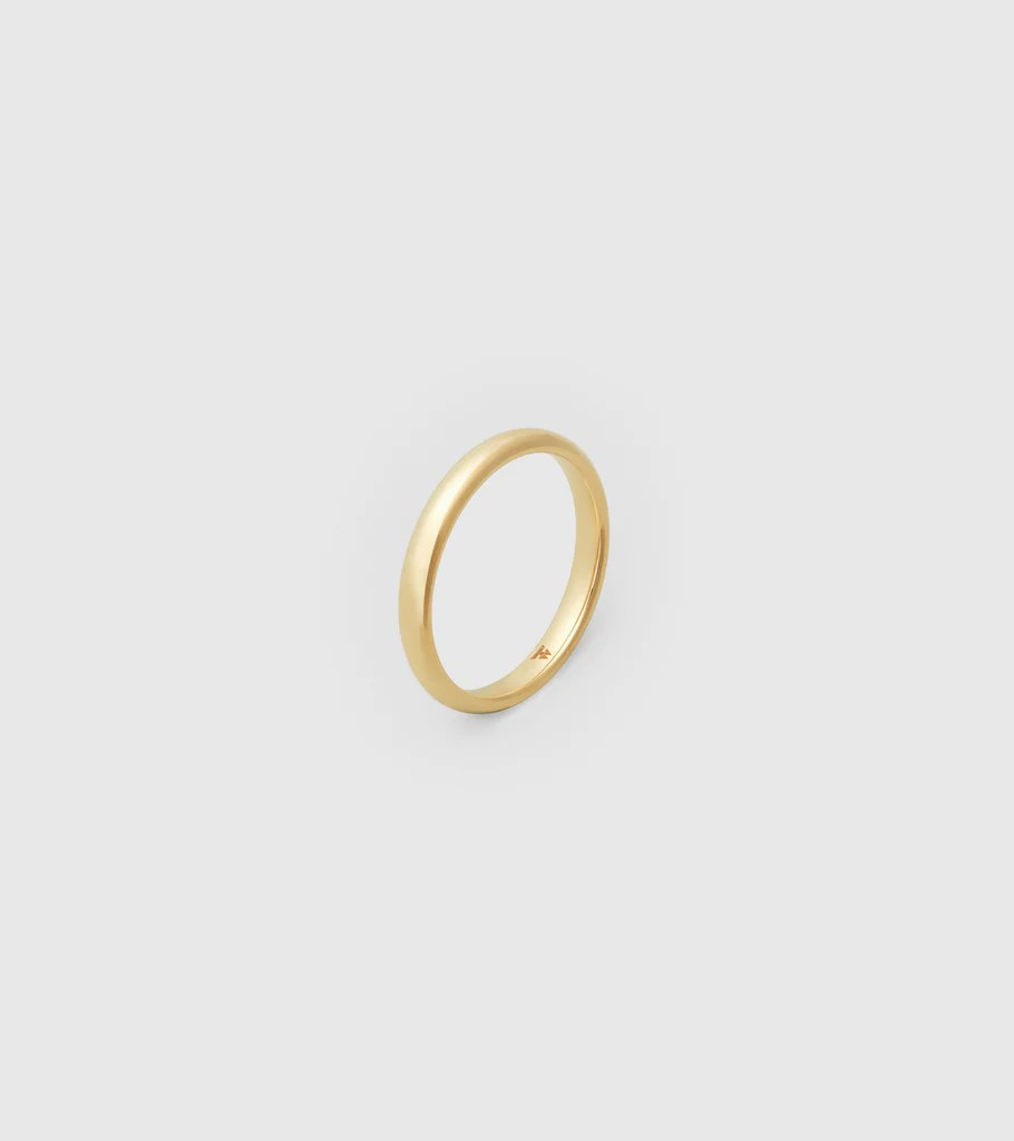Gold S Band Ring Ring Lt Old Tom Wood