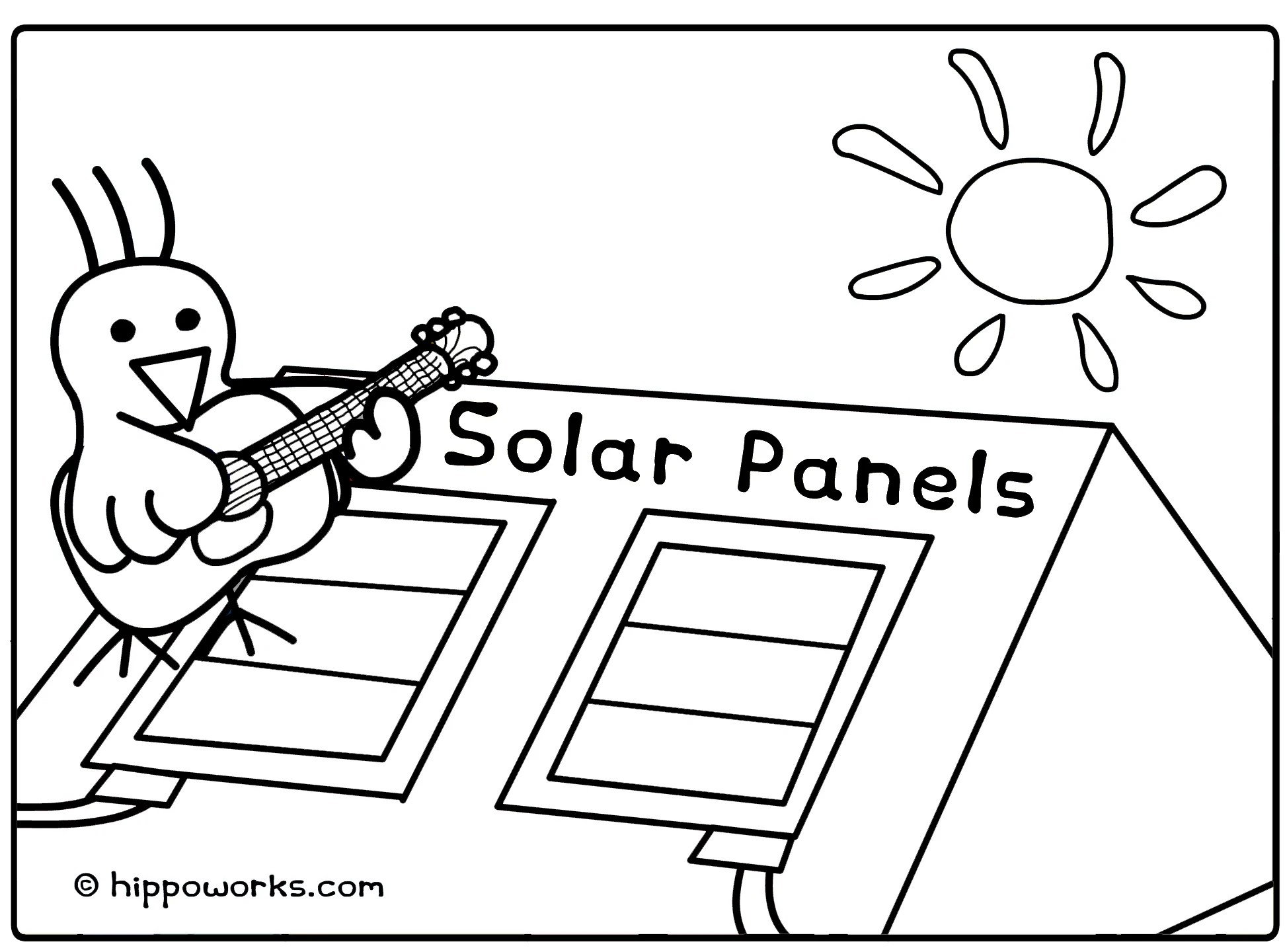 metering solar power panels