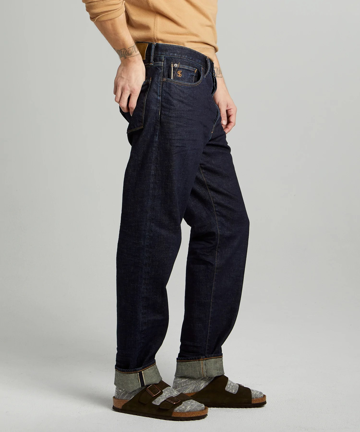 The Relaxed Jean In Indigo Rinse Todd Snyder