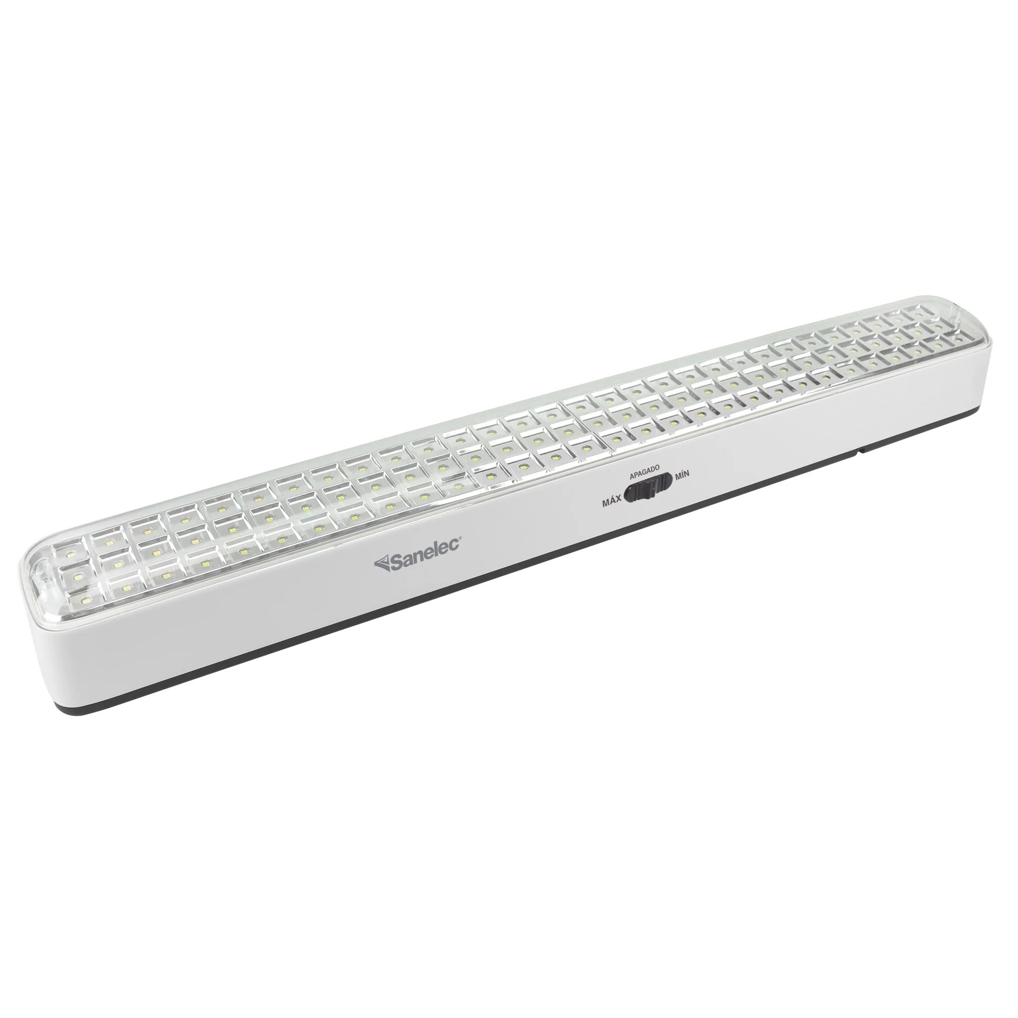 Lamparas De Emergencia Led Lampara Emergencia Recargable 90 Led 2 8 W 2165 Sanelec Ibushak