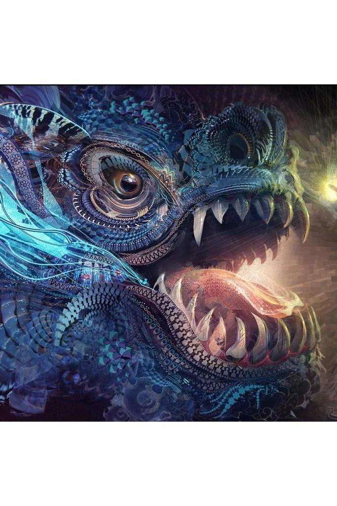 Wallpaper Skull 3d Dragons 2048