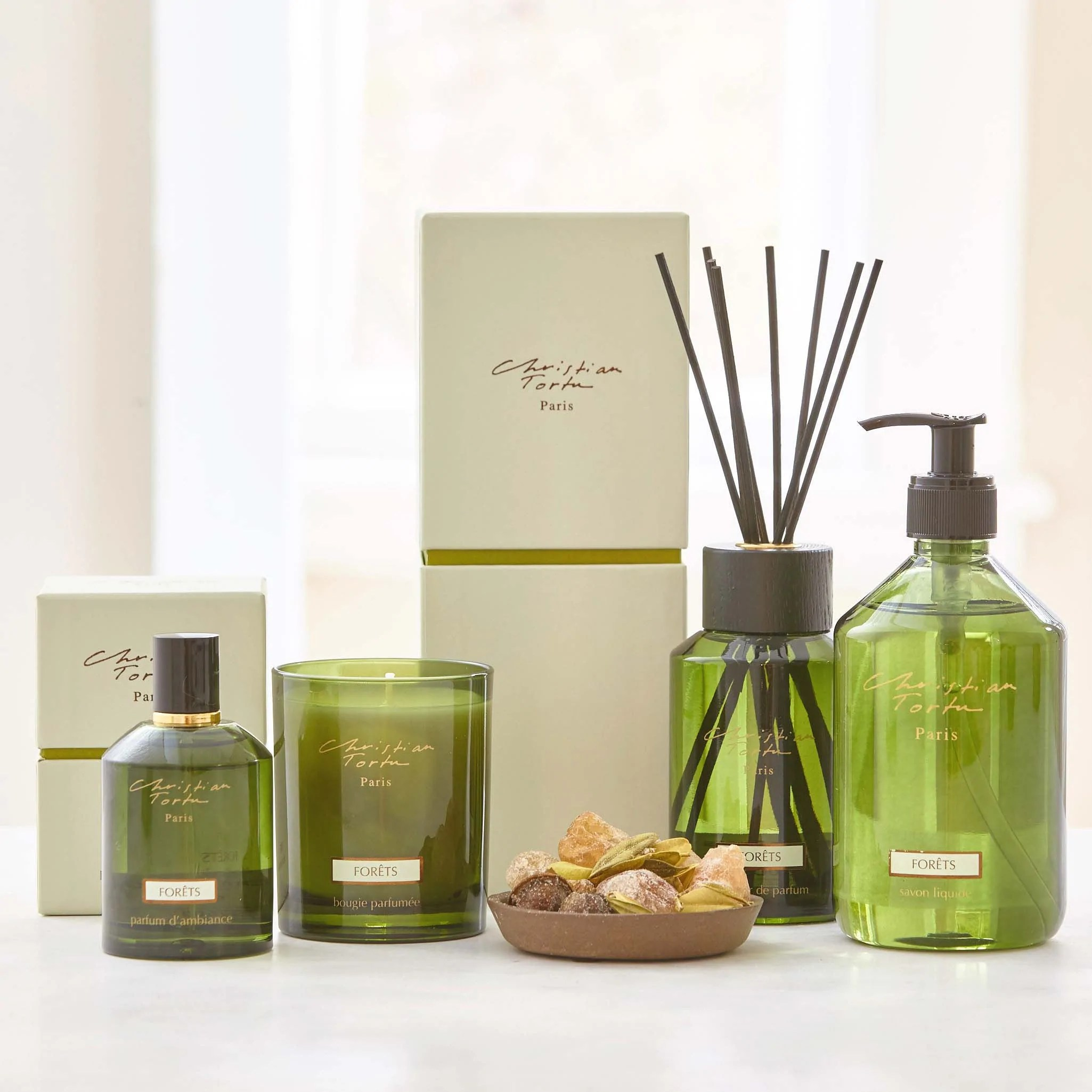 Diffuseur De Parfum Bougie Privet House Supply Christian Tortu Forets Home Fragrance Collection