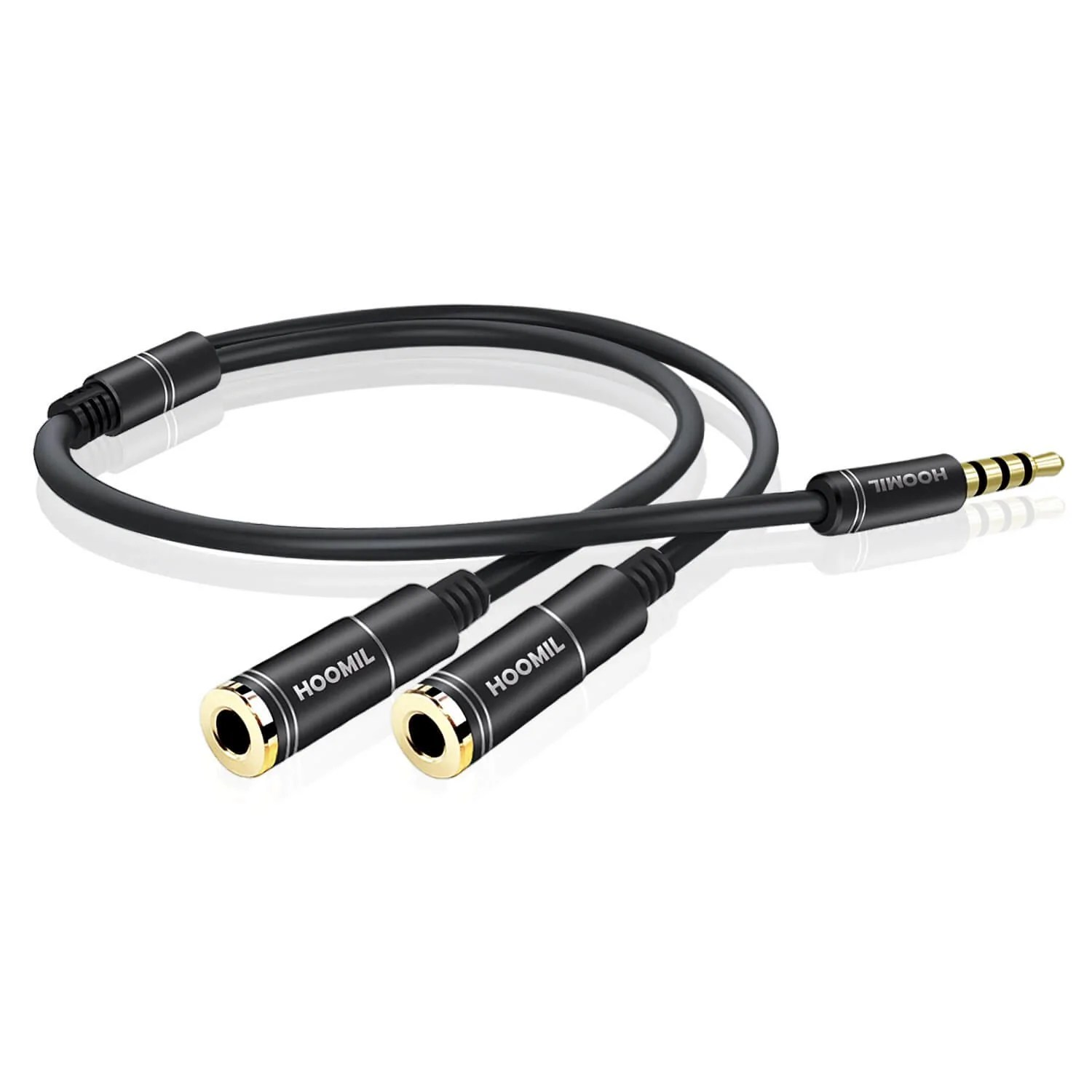Splitter Kabel Phone Accessories Headphone Splitter 3 5mm Jack Male To 2 Port 3 5mm Female Cable Audio Stereo Y Splitter