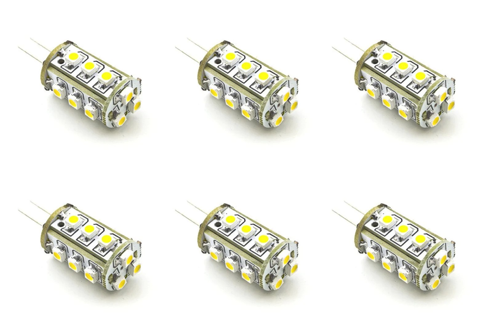 Ac Dc 12v 24v 1 8w 15x 3528 Bi Pin Led Light Bulb G4 12vmonster Lighting And More