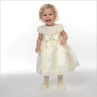 Poppy Baby Toddler Flower Girl Dress in Ivory