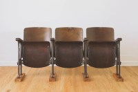 Antique Theater Chairs | Homestead Seattle