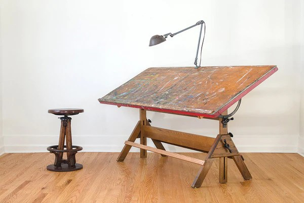 Kitchen Island Height Hamilton Studio Drafting Table - Homestead Seattle
