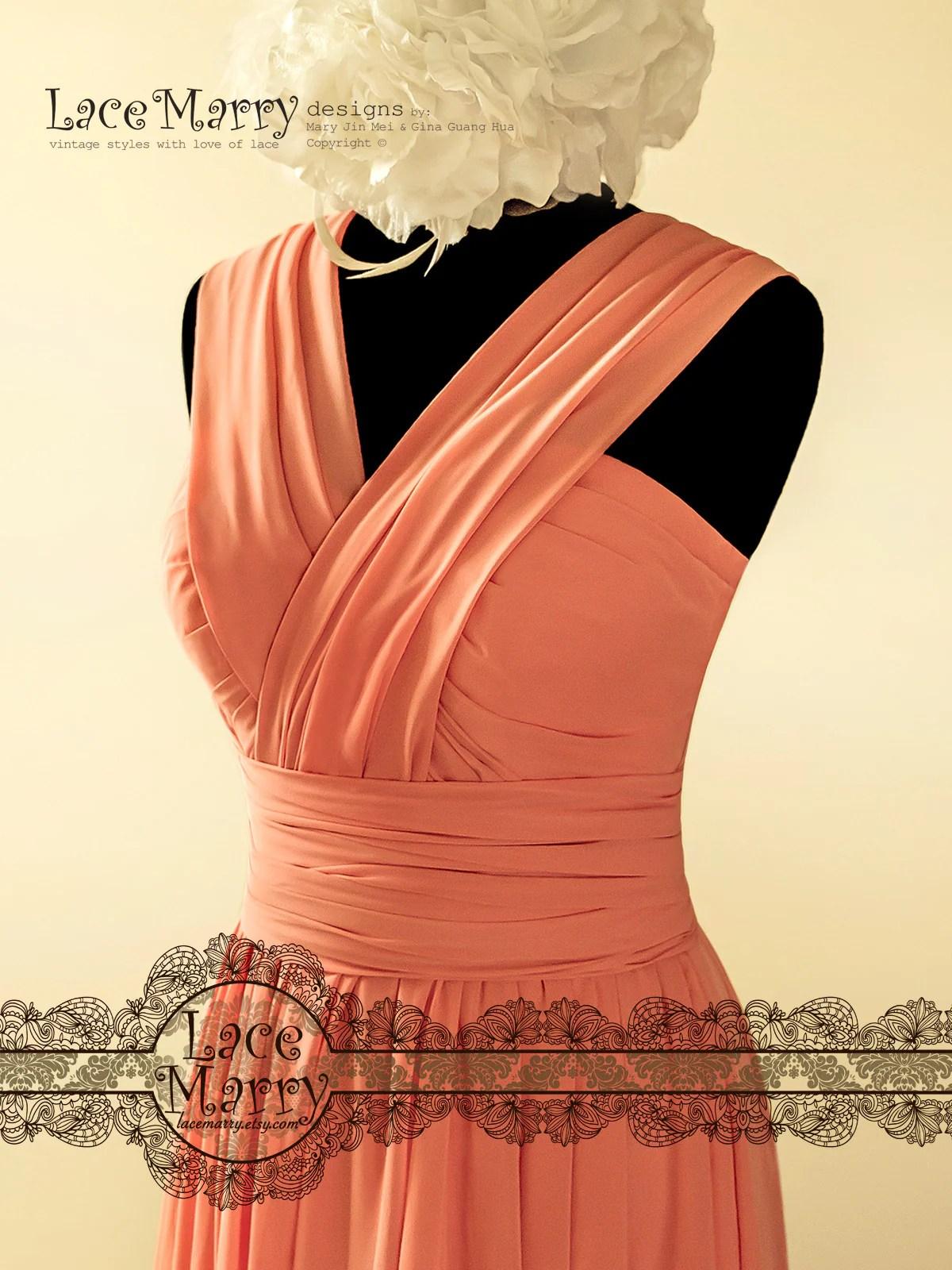 Fullsize Of Coral Color Dress