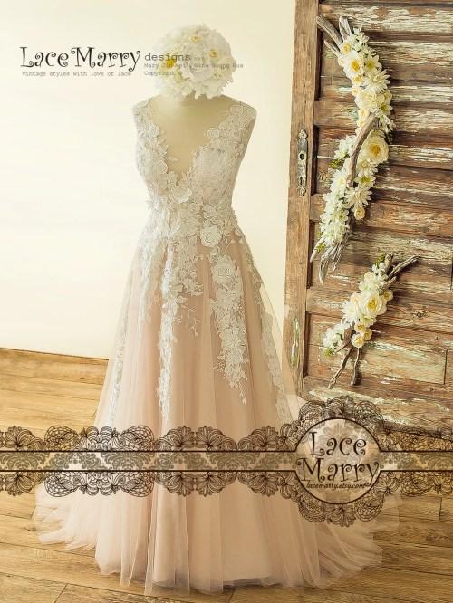 Medium Of Vintage Lace Wedding Dress