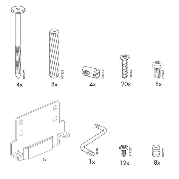 Ikea Bed Rail Ikea Ramberg Bed Frame Replacement Parts – Furnitureparts.com