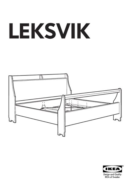 Ikea Twin Bed Frame Lillehammer Bedframe Replacement Parts – Furnitureparts.com