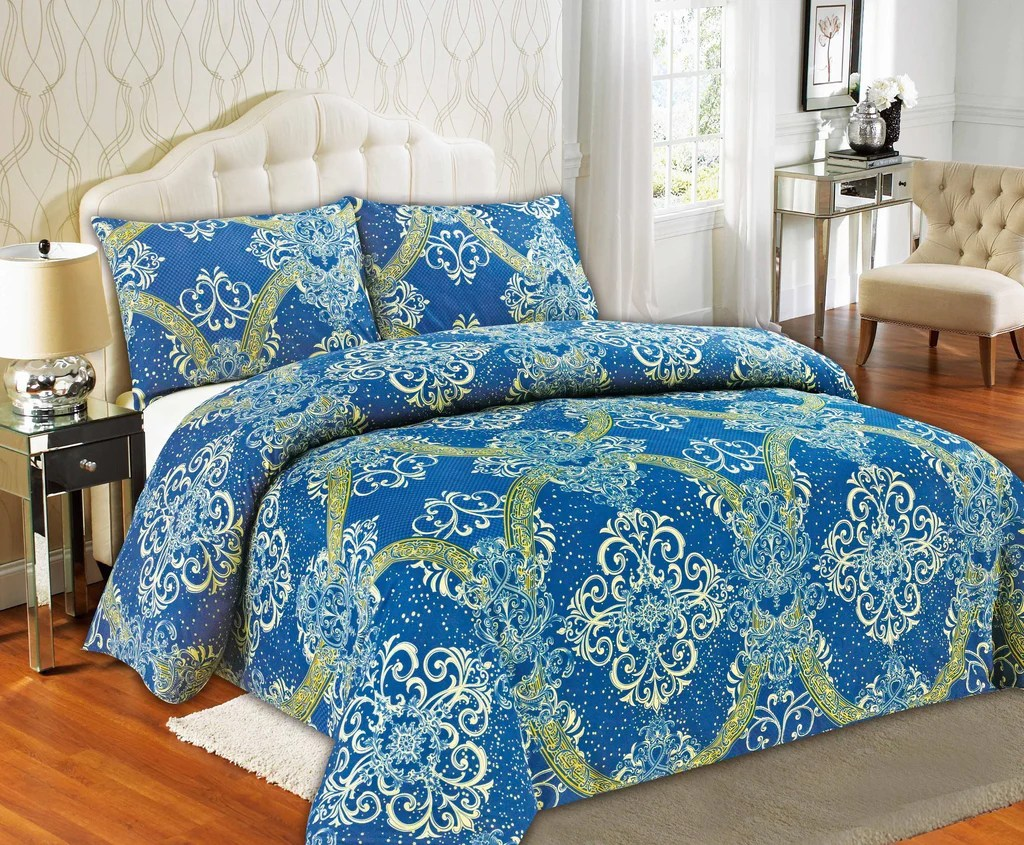 Damask Duvet Tache Star Gazing Blue Damask Duvet Cover 2133