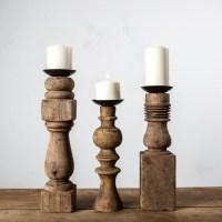 Furniture Leg Candle Holder - Magnolia Market | Chip ...