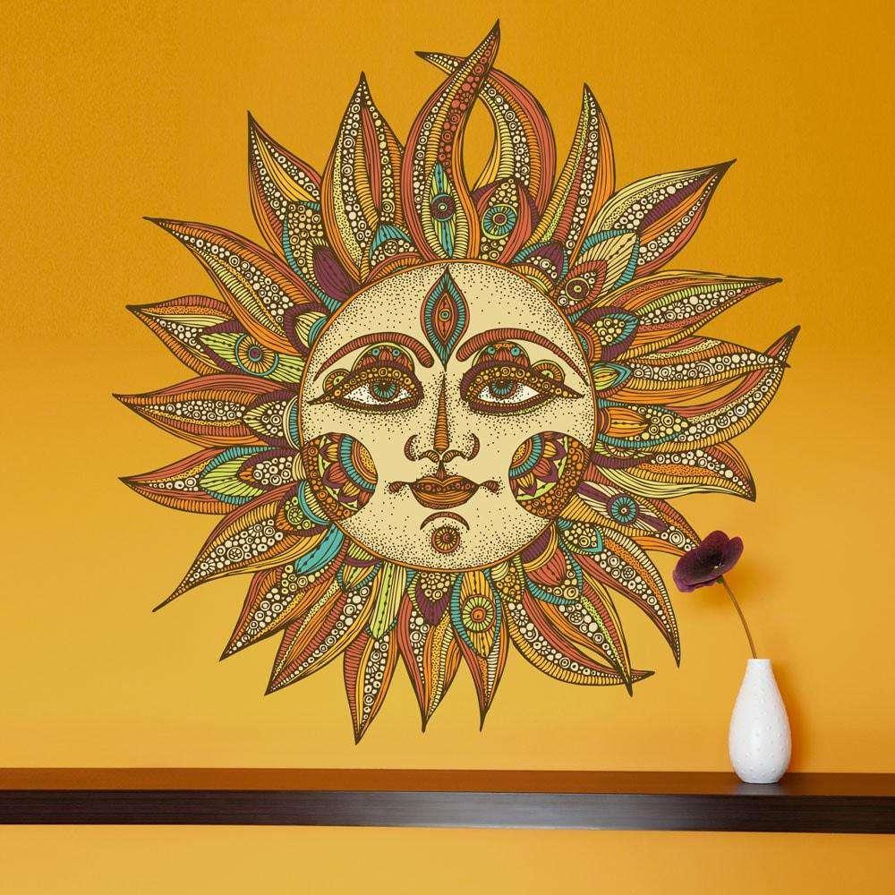Wall Art Sun - Elitflat