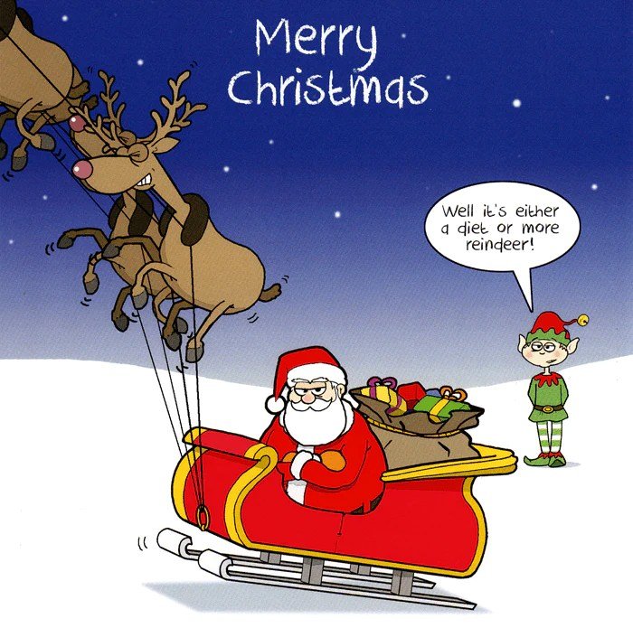Sarcastic Wallpaper Quotes Funny Christmas Card Santa Either A Diet Or More
