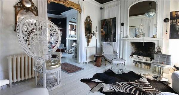 Black Metallic Wallpaper Interior Designer Sera Hersham Loftus 55max