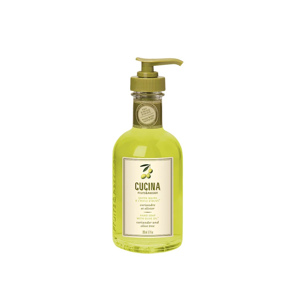 Cucina Kitchen Products Fruits And Passion Cucina Hand Soap With Olive Oil Coriander And
