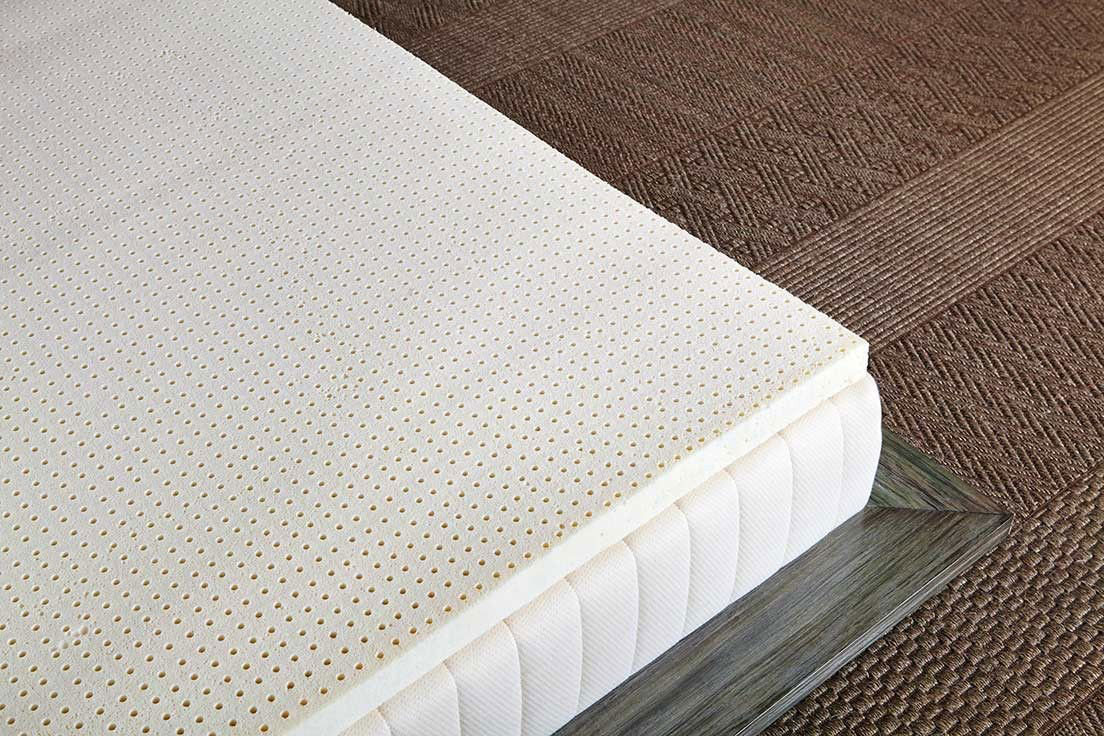 Foam Or Latex Mattresses Pure Green Natural Latex Mattress Topper