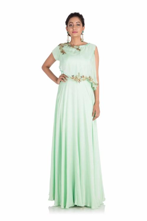 Medium Of Light Green Dress