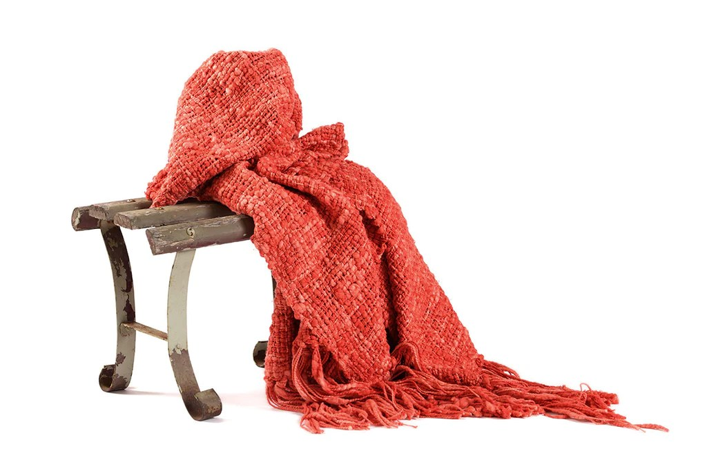 What Is A Throw Blanket Cotton Throw Blanket - Coral Textured Throw | Homelosophy