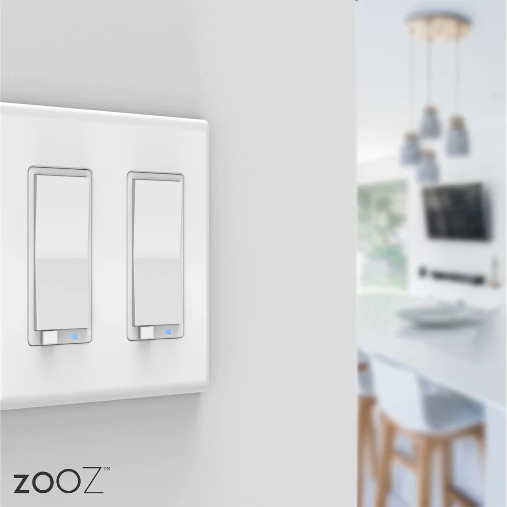 Dimmer Switch Zooz Z Wave Plus S2 Dimmer Switch Zen27 Ver 2 White With Simple Direct 3 Way 4 Way